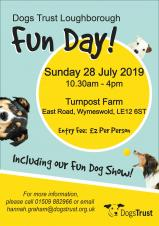 Dogs Trust Fun Day @ Turnpost Farm in Wymeswold
